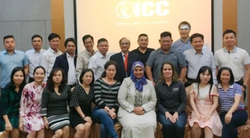 Technical seminar strengthens the relationship between ICC Brazil and customers in Asia