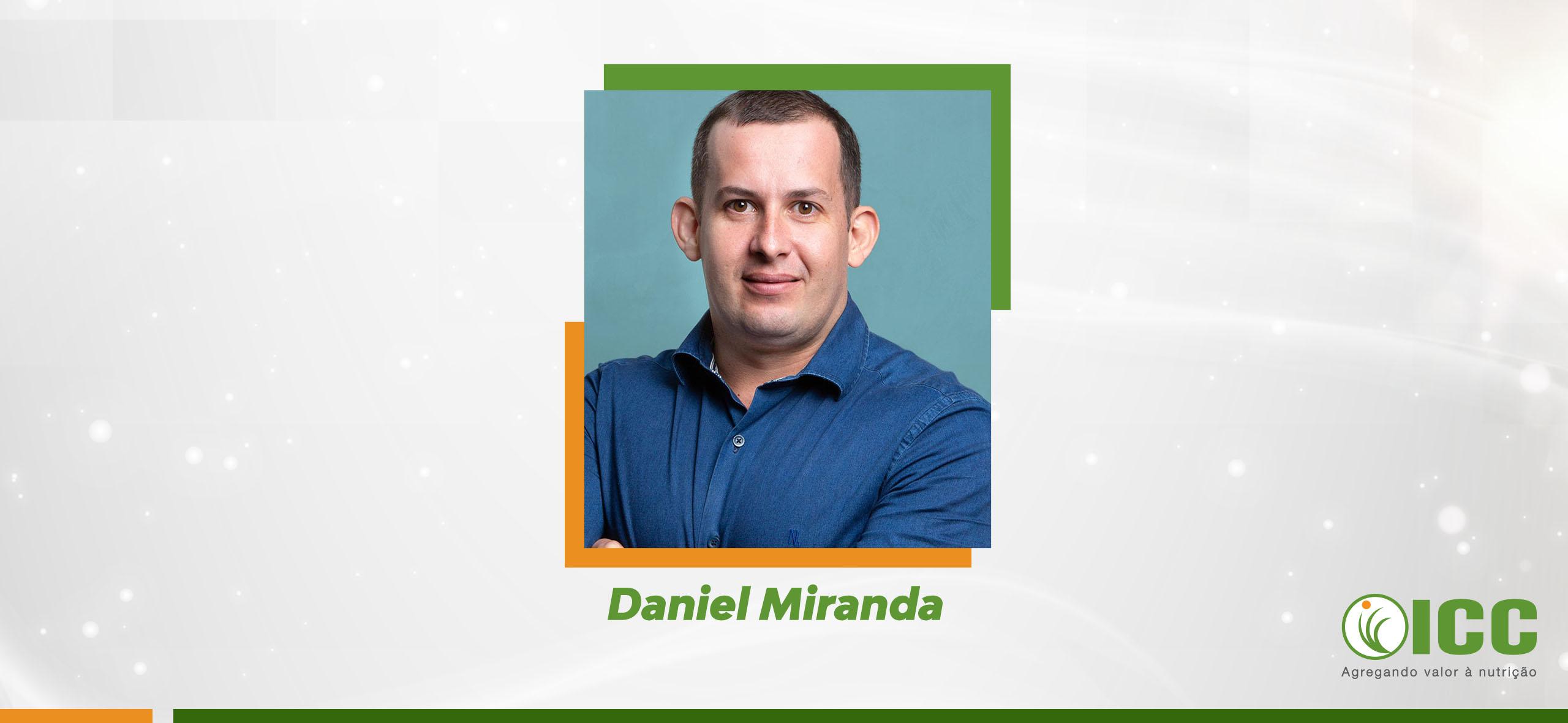 Enfoque en las personas: Daniel Miranda es el nuevo profesional que se une al equipo de ICC